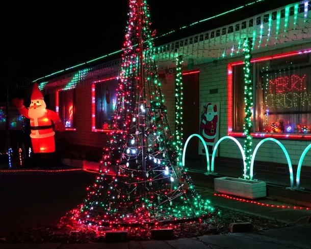 ryanschristmaslights's display in Salisbury East SA