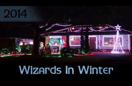 ryanschristmaslights - Wizards In Winter by Trans-Siberian Orchestra