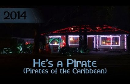 ryanschristmaslights - He's a Pirate by Klaus Badelt