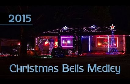 ryanschristmaslights - Christmas Bells Medley by Scott Gonzalez