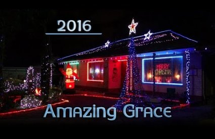 ryanschristmaslights - Amazing Grace by Yule