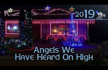 ryanschristmaslights - Angels We Have Heard On High by Cate Sparks