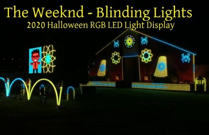 LawrenceDriveLights - Blinding Lights by The Weeknd