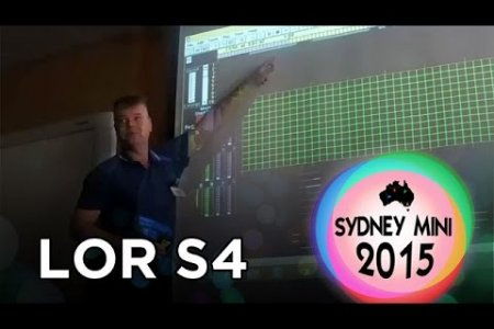Sydney Mini 2015 - Light-O-Rama S4