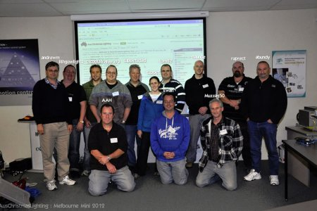 2012 Melbourne Mini attendees
