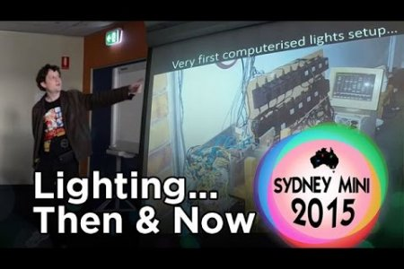 Sydney Mini 2015 - Synchronised lighting: then and now