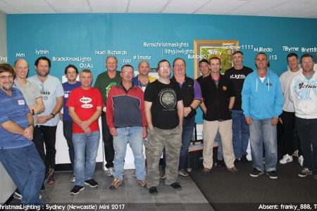 2017 Sydney Mini (Newcastle) attendees