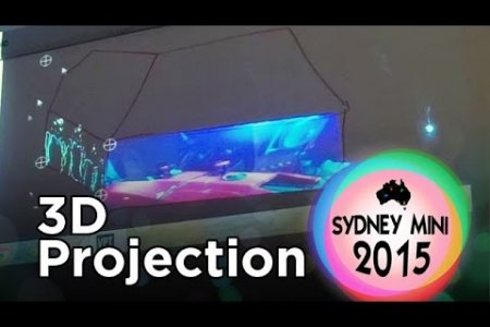 Sydney Mini 2015 - VPT7 3D Projection Mapping