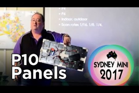 Sydney Mini 2017 - P10 LED Panel Matrix