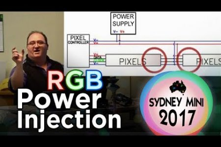 Sydney Mini 2017 - Power Injection and RGB Pixel Data