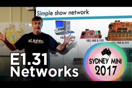 Sydney Mini 2017 - E1.31 Controller Networking