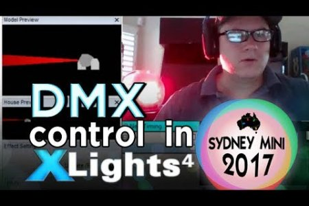 Sydney Mini 2017 - Controlling DMX Lights in xLights 4