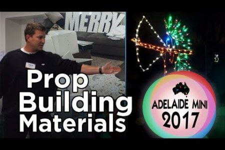 Adelaide Mini 2017 - Prop Building Materials