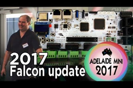 Adelaide Mini 2017 - Falcon Christmas 2017 controller update