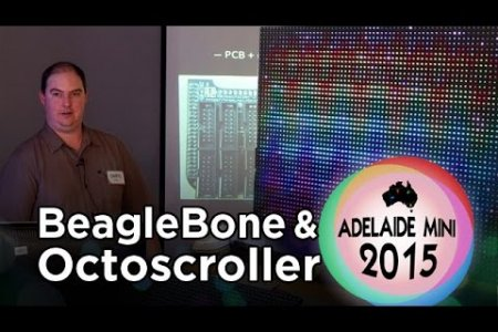 Adelaide Mini 2015 - BeagleBone Black as a controller