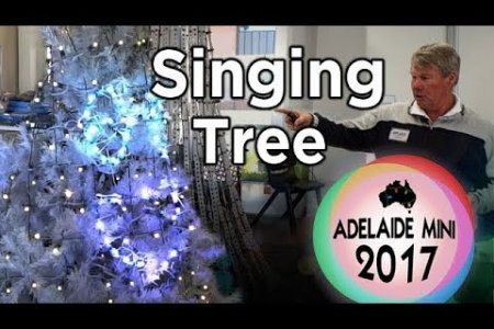 Adelaide Mini 2017 - Singing Christmas Tree