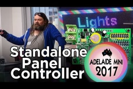 Adelaide Mini 2017 - Standalone LED Panel Controller