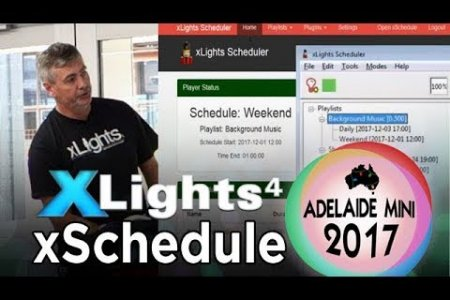 Adelaide Mini 2017 - xSchedule (xLights Scheduler)