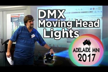 Adelaide Mini 2017 - DMX Moving Head Lights