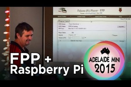 Adelaide Mini 2015 - Raspberry Pi running Falcon Player