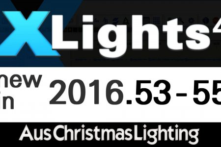XLights 4 Webinar: New in versions 2016.53 - 2016.55