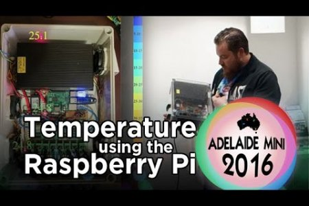 Adelaide Mini 2016 - Monitor Temperature with a Raspberry Pi