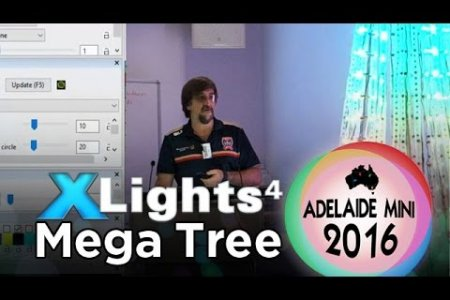 Adelaide Mini 2016 - xLights 4 Mega Tree (and Fing's tree)