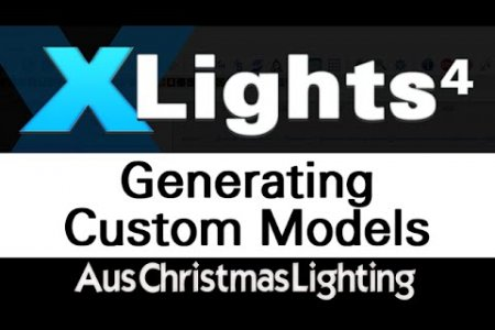 XLights 4 Webinar series: Generating custom models