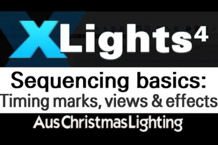 XLights 4 Webinar series: Sequencing basics