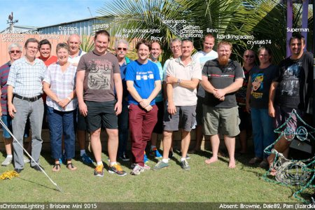 2015 Brisbane Mini attendees