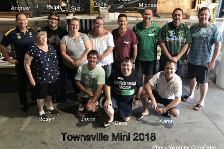 Townsville Mini 2018 Group Photo