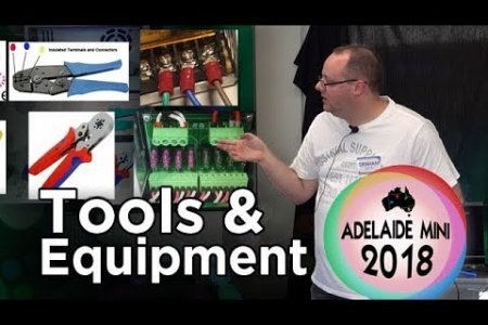 Tools, equipment and consumables for Christmas lights - 2018 Adelaide Mini