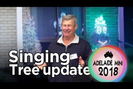 Singing Christmas tree update - 2018 Adelaide Mini