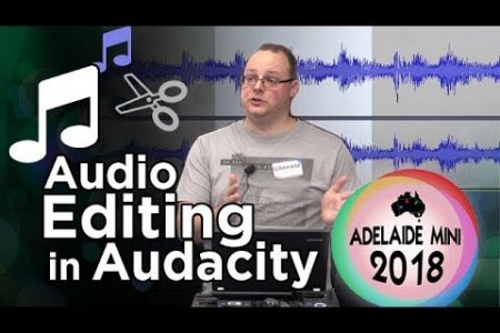 Audio editing demo with Audacity - 2018 Adelaide Mini