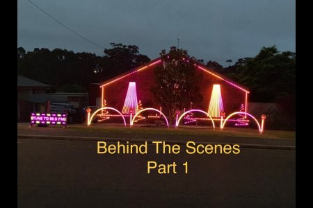 "2018 Halloween Light Display - Behind the Scenes Part 1 ""The Lights / Props"""