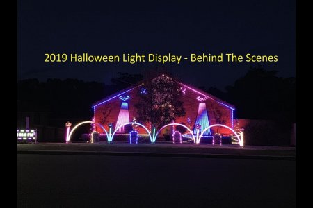 2019 Halloween Light Display - Behind The Scenes