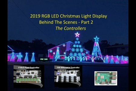"2019  Christmas Light Display - Behind The Scenes Part 2 ""The Controllers"""