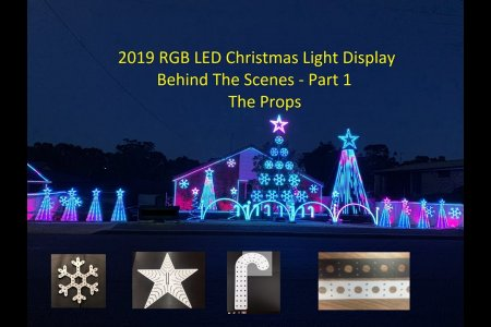 "2019 Christmas Lights Display - Behind The Scenes Part 1 ""The Props"""