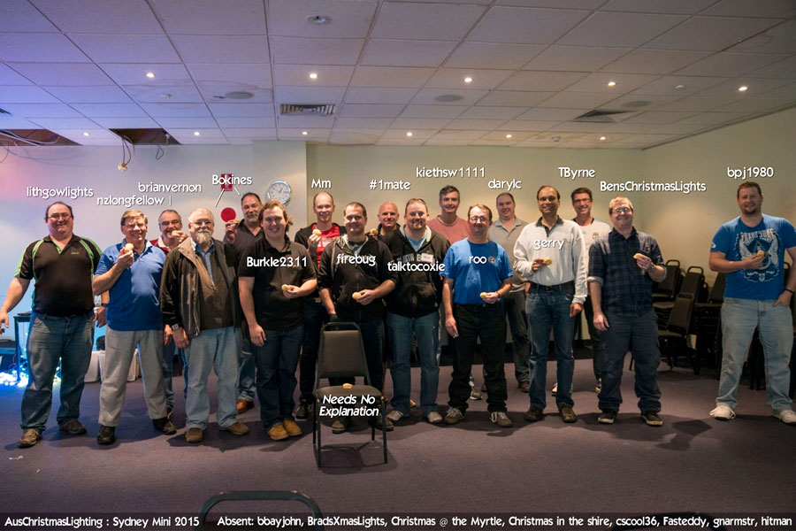 2015 Sydney Mini attendees